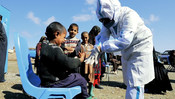 World Vision Afghanistan's Mobile Health and Nutrition Teams provide health services for Internal Displaced Population