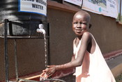 World Vision South Sudan carrying out COVID-19 community awareness sessions.
