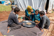IDP Camp in Syria