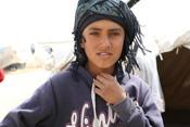 Ahmad*, 13, in Al-Hol Camp, North East Syria