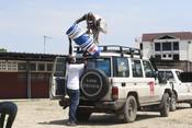 Coronavirus pandemic response in DRC: distributing individual kits to hospitals