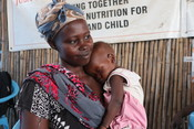 Malnutrition check in South Sudan