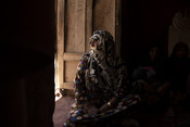 Pari Guls mother-in-law at home in Herat