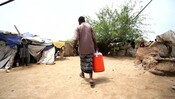 Yemen IDP Camp Broll