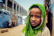 Sheema*, 7, IDP camp in Yemen