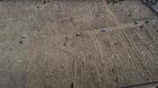 Aden graveyard aerial view