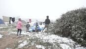 Winter in northwest Syria